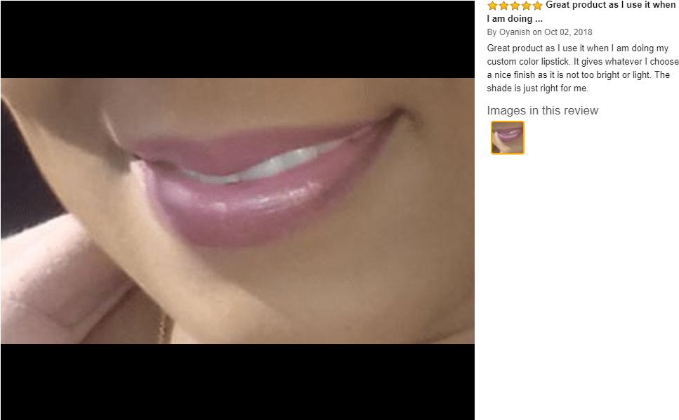 NYX professional makeup butter lip gloss customer review 3