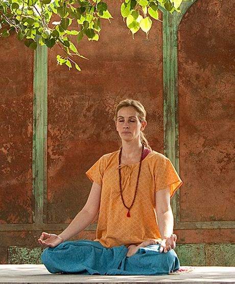 julia roberts on yoga