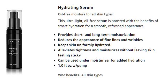 hydrating anti-aging serum