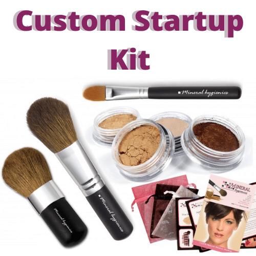 Natural mineral custom startup kit