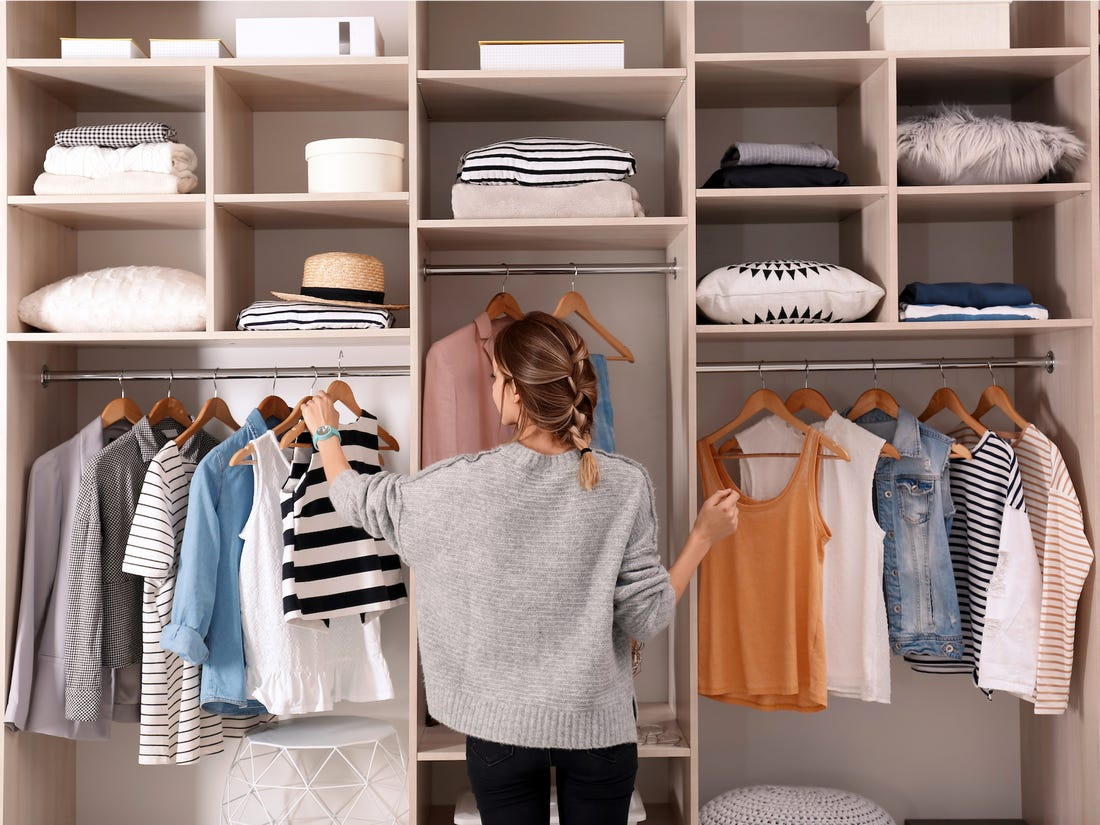 Focus On Yourself-Organize Your Closet