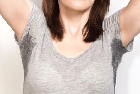 Personal hygiene habits change your sweaty shirt