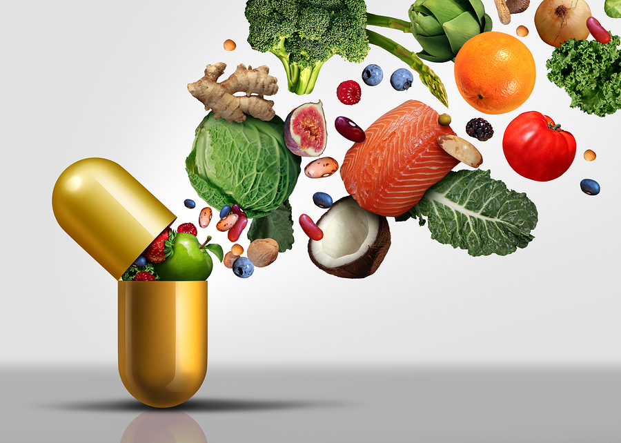 Regain the balance-food supplements