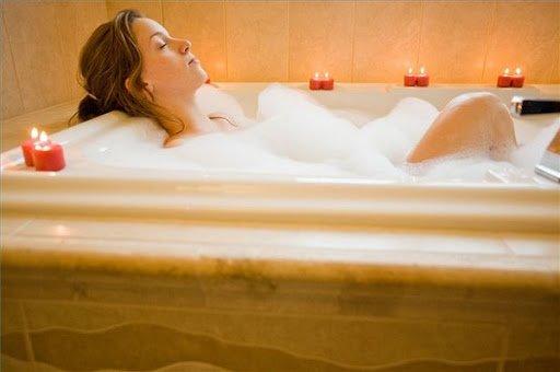 Renew your beauty #1. Take A Bubble Bath