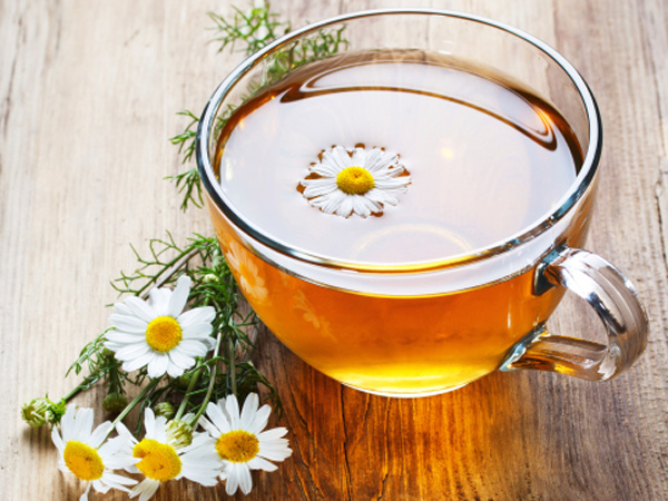 chamomile_tea to aid in de-stressing before bedtime