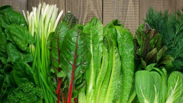 Renew your beauty #3. Load Your Diet With Greens