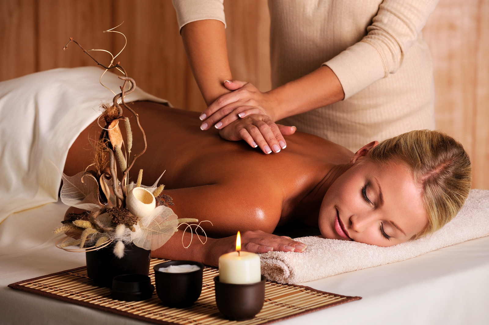 Renew your beauty #4. Massage Therapy