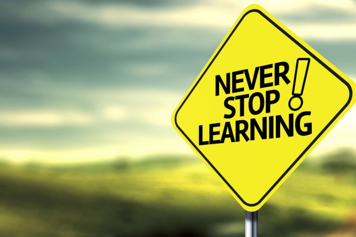 Boost Self-Confidence-never stop learning