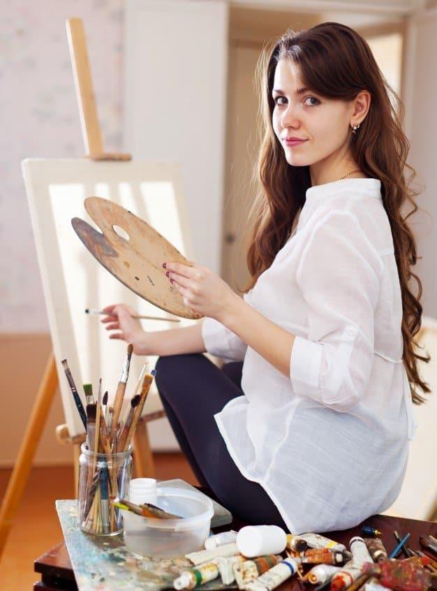 Regain the balance-painting hobby