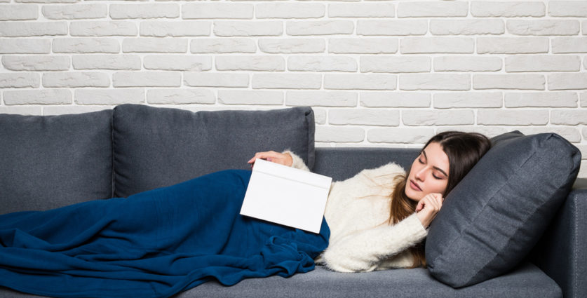 Regain the balance-taking-nap