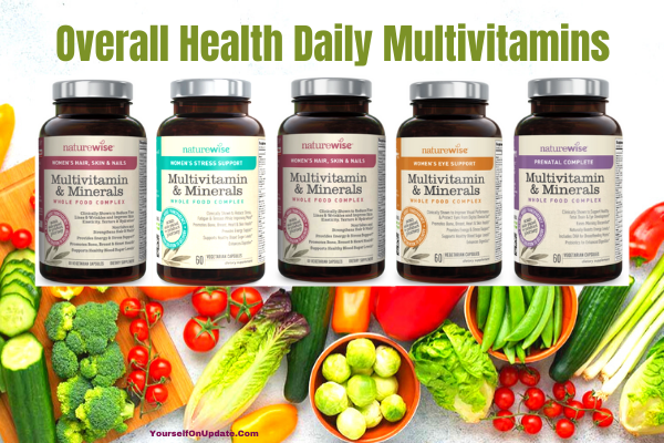 Overall health daily multivitamins