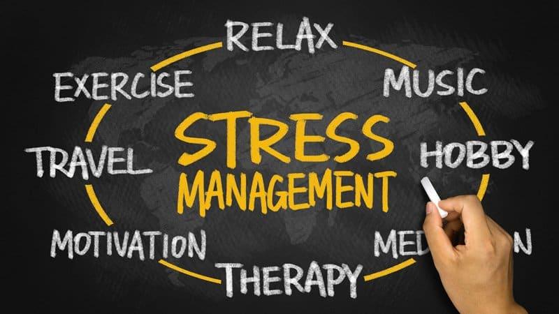 Healthy regimen #8. Stress Management
