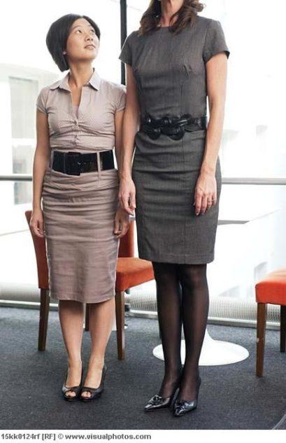 tall short women