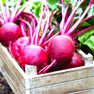 Beets or Beetroots-high source of potassium
