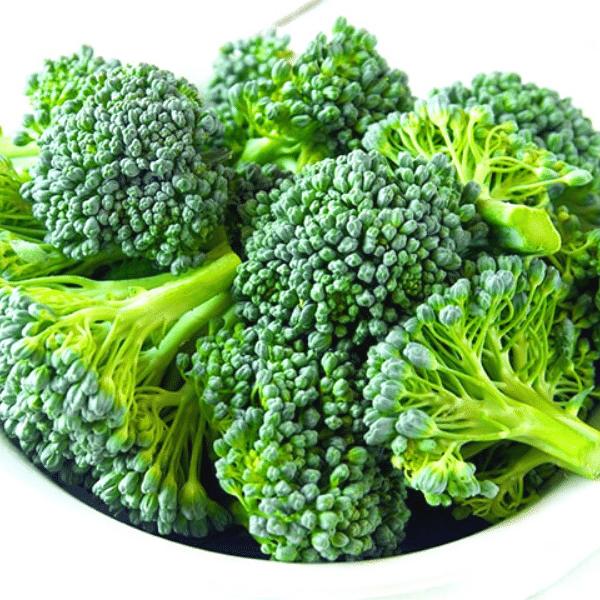 Broccoli as a high source of potassium