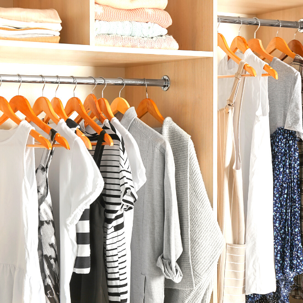 Focus on yourself #2. Organize Your Closet