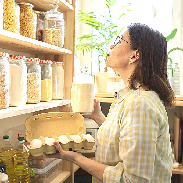 #1. Check food items in your pantry and fridge