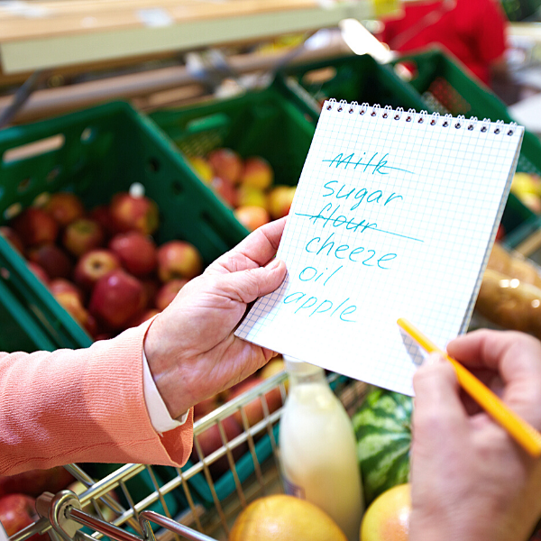 Smart Moves To Your Money: Make a budget lists for your groceries